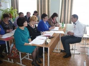Ибраев Г.М. представляет самоанализ учебного занятия