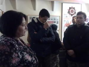 В доме- музее А.Скокова