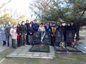 Место захоронения А.Скокова